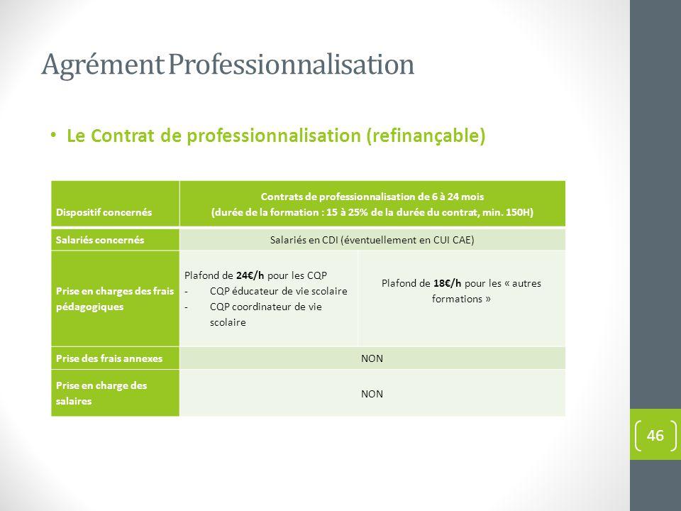 La formation professionnelle informations g n rales et - Grille salaire contrat de professionnalisation ...
