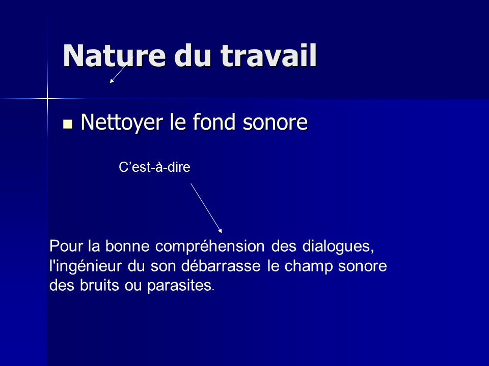 Ing nieur du son ppt video online t l charger - Nettoyer le fond des toilettes ...