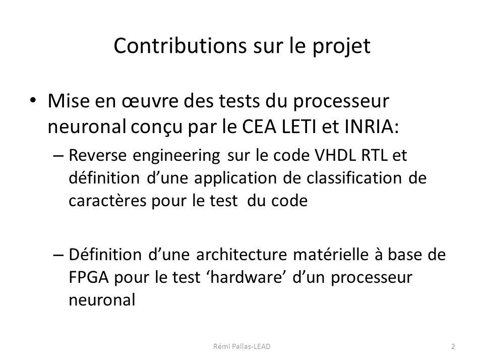 R union projet anr nemesis du 15 d cembre ppt t l charger for Projet architectural definition