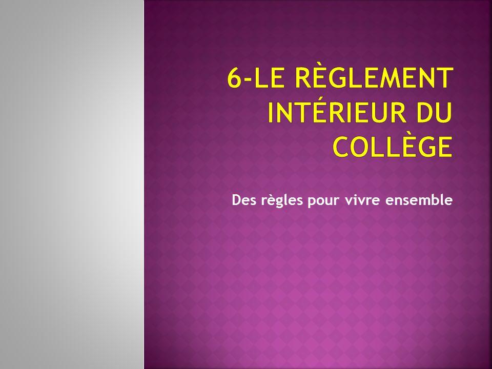 Le coll ge albert lougnon ppt video online t l charger for Reglement interieur association sportive