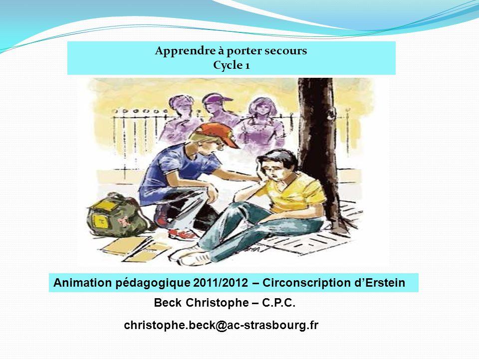 Apprendre porter secours ppt t l charger - Apprendre a porter secours cycle 3 ...