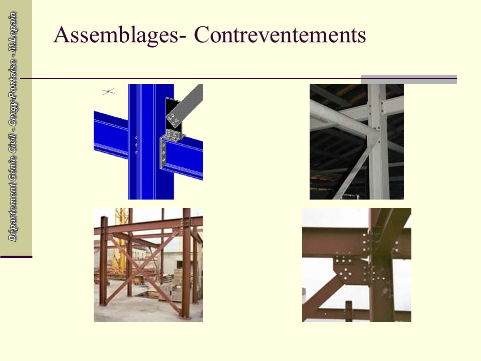 Assemblages- Contreventements