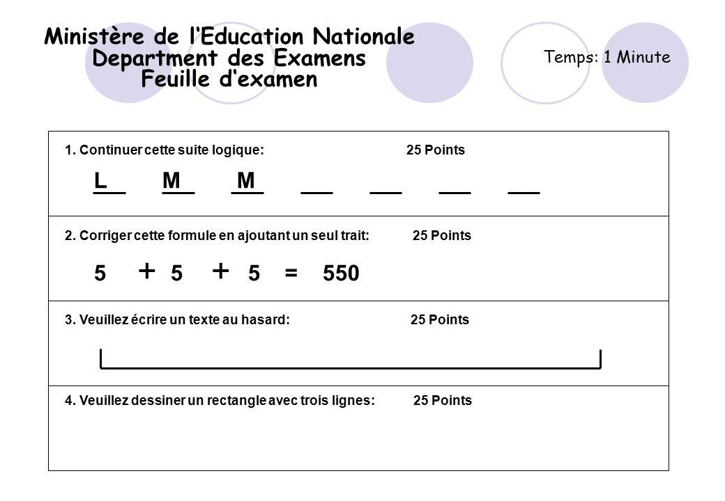 Minist re de l education nationale department des examens ppt t l charger - Office education nationale ...