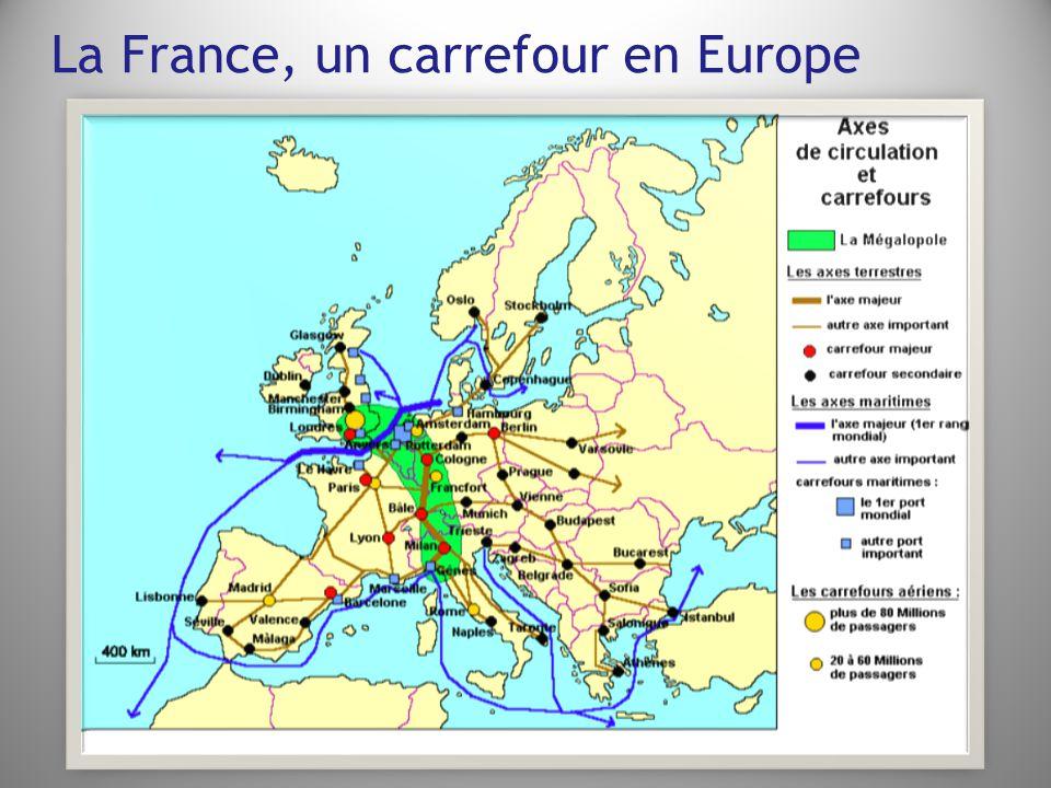 La France, un carrefour en Europe