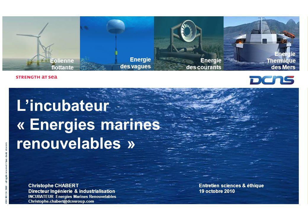 naval énergies énergie thermique des mers