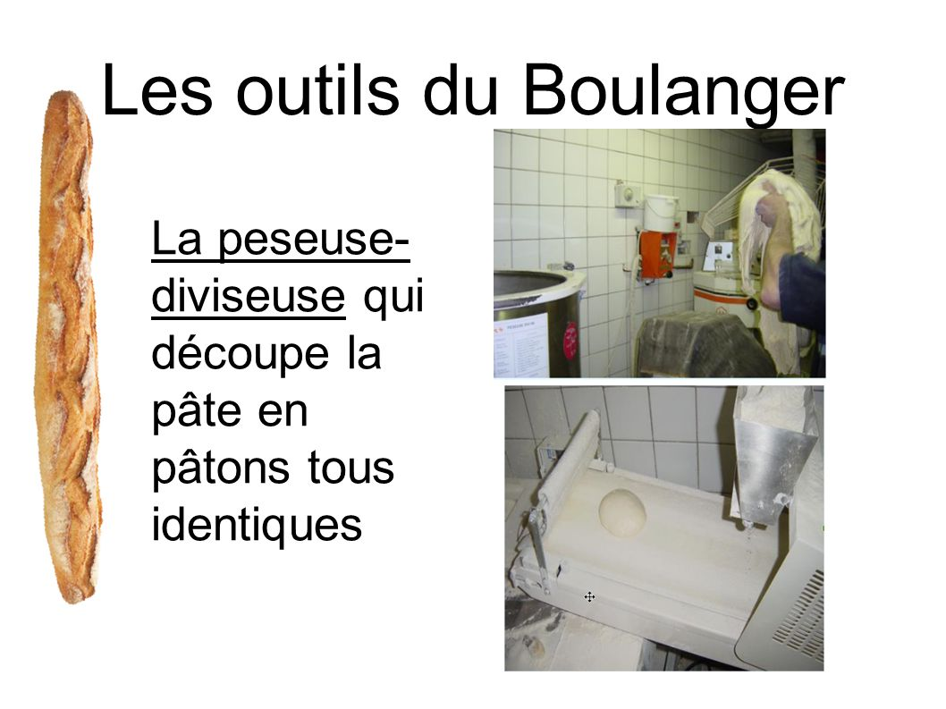 Les outils du Boulanger