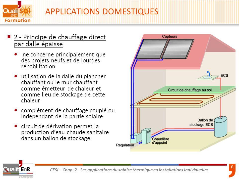 les applications du solaire thermique en installations individuelles ppt video online t l charger. Black Bedroom Furniture Sets. Home Design Ideas