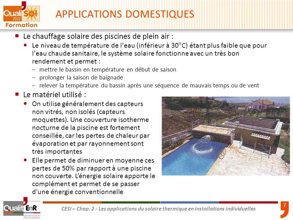 Les applications du solaire thermique en installations - Comment fonctionne une douche solaire ...