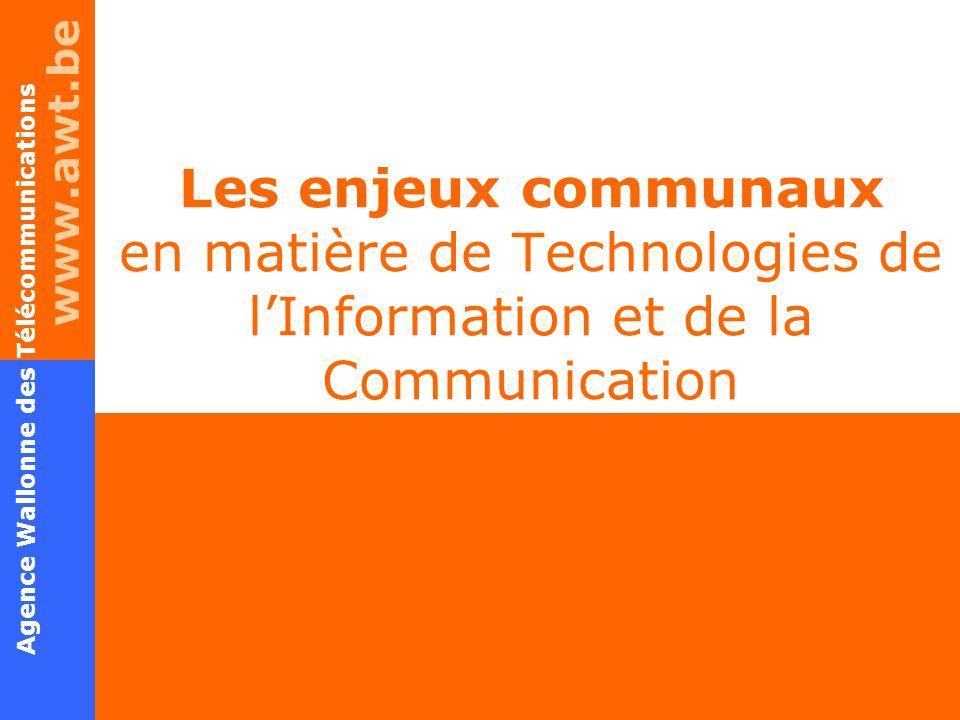 Les enjeux communaux en matière de Technologies de l ...