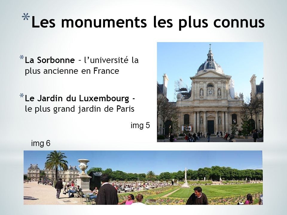 paris l architecture et les monuments ppt t l charger