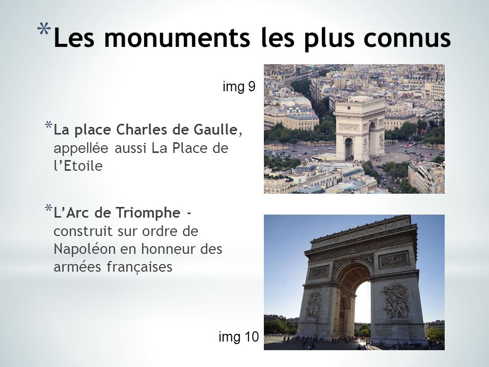 Paris l architecture et les monuments ppt t l charger - Plats indiens les plus connus ...