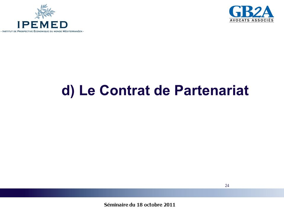 Les partenariats public priv ppp cadre r glementaire for Contrat de maitrise d ouvrage
