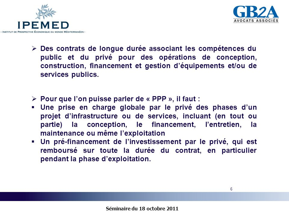 Les partenariats public priv ppp cadre r glementaire for Contrat de conception construction