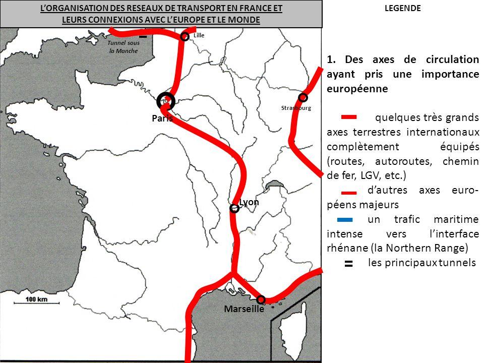1. Des axes de circulation ayant pris une importance européenne