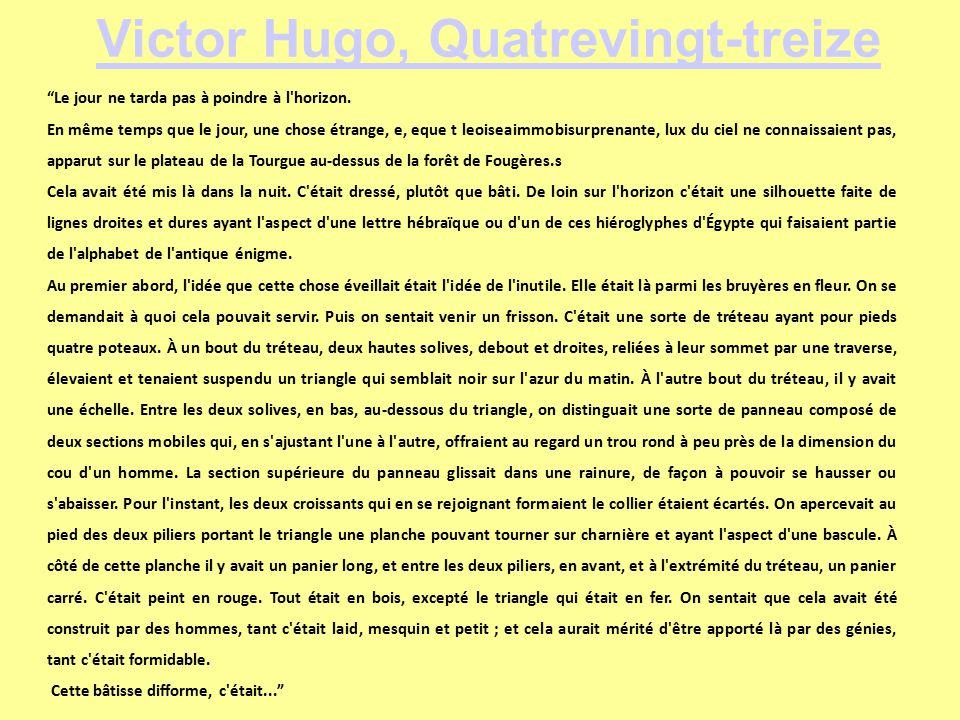 Victor hugo engag ou l actualit d un d bat ppt for Black k treize