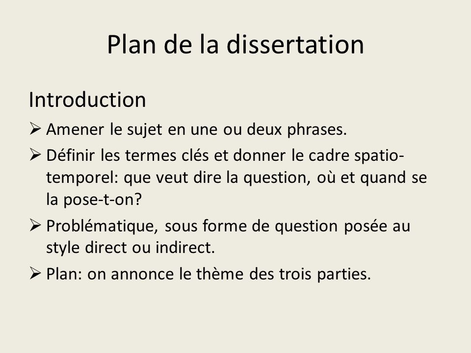 planning a dissertation introduction Your dissertation's introduction should set the scene and explain why you studied this area and what you hoped to find this is often the last section to write.