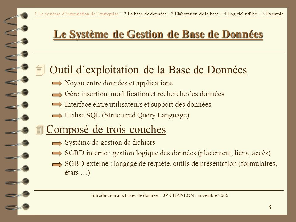 introduction aux bases de donn u00e9es