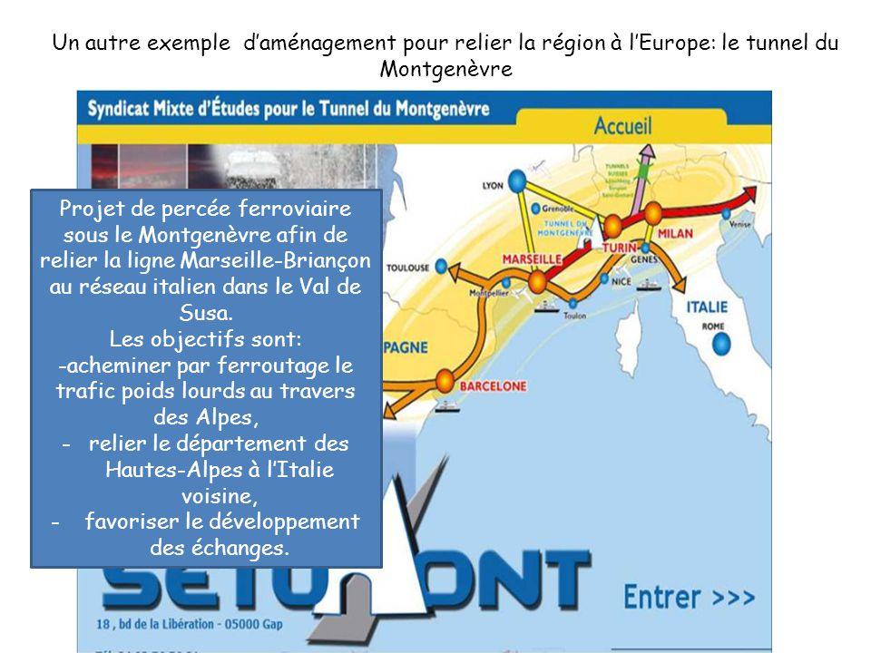 -acheminer par ferroutage le trafic poids lourds au travers des Alpes,