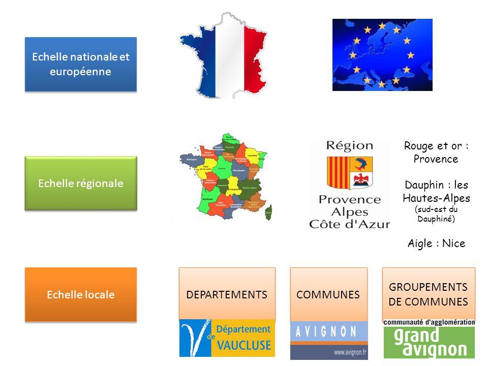 Echelle nationale et européenne