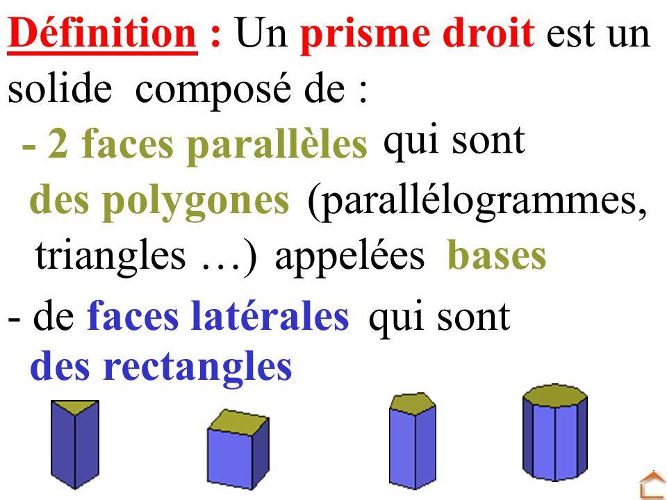 Prisme droit ppt t l charger - Definition de hauteur ...