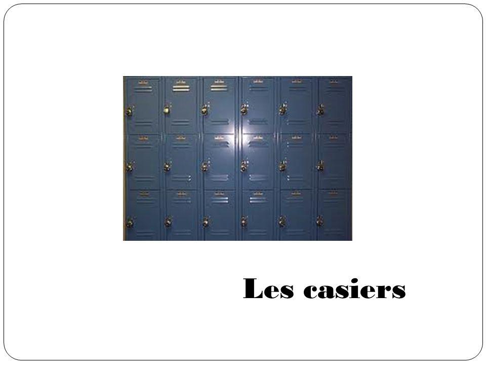 Les casiers