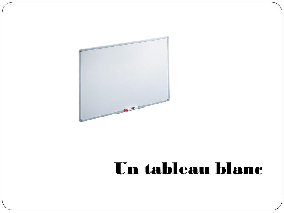 Un tableau blanc