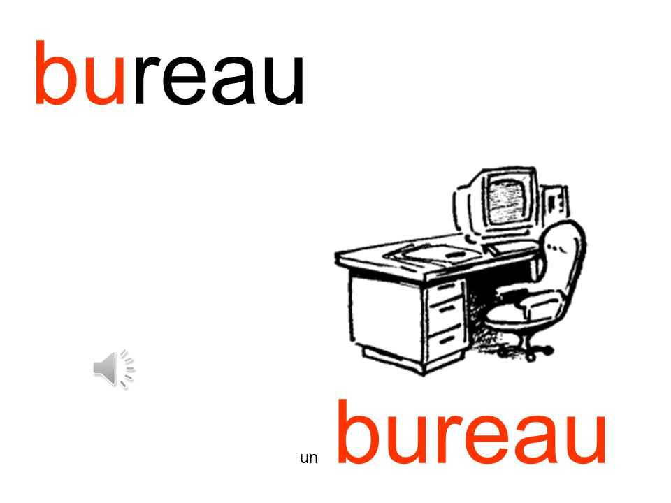 bureau un bureau