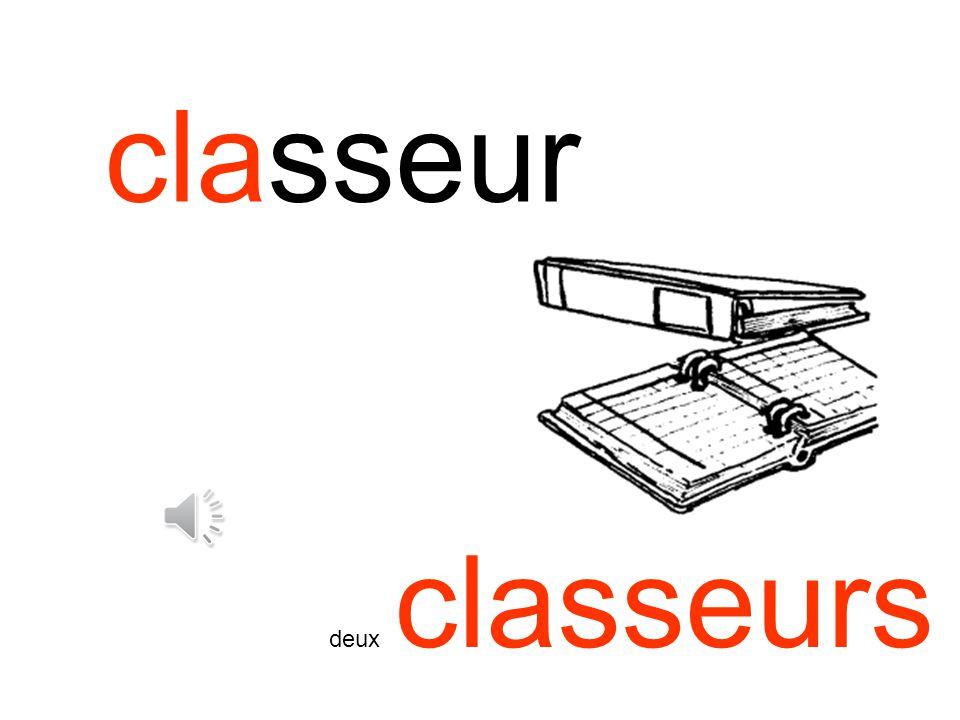 classeur deux classeurs
