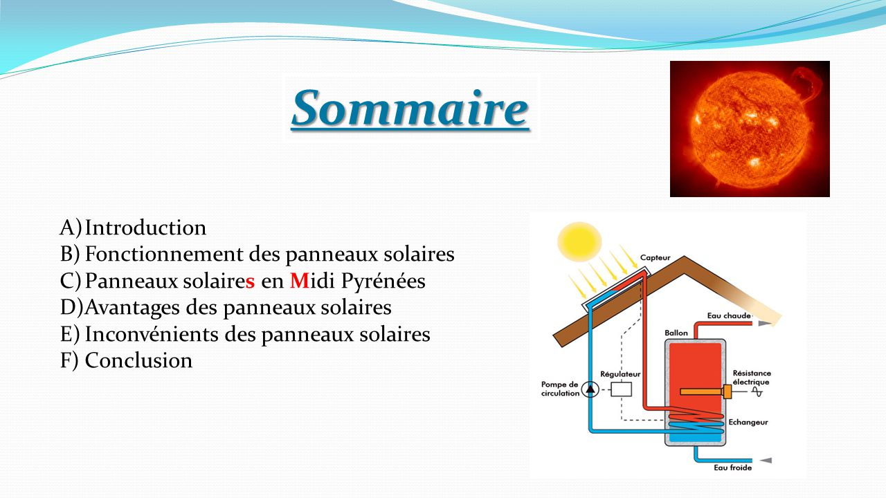 Avantage de l nergie solaire david petrosino le courant for Design of oxidation pond ppt