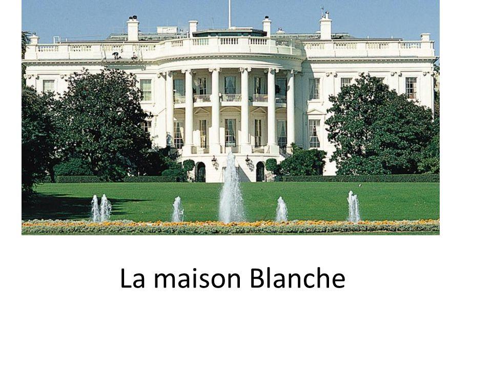 La maison blanche ppt t l charger for Architecte de la maison blanche