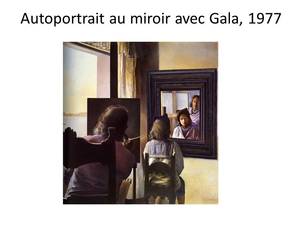 Autoportrait mou avec lard grill salvador dali ppt video for Autoportrait miroir
