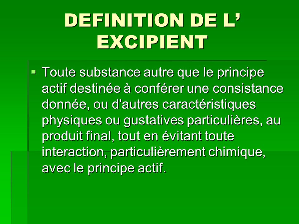 Approche generale du medicament ppt video online t l charger for Definition de l