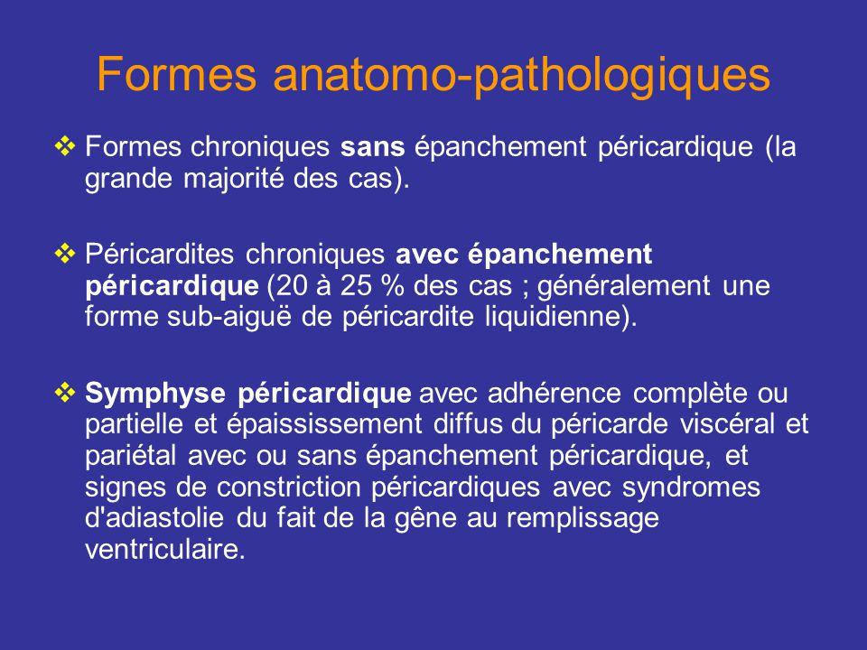 Formes anatomo-pathologiques