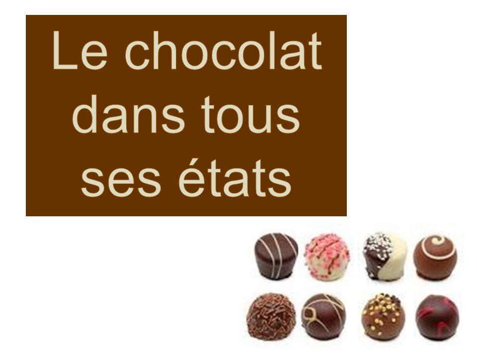 Le chocolat dans tous ses états - ppt video online télécharger