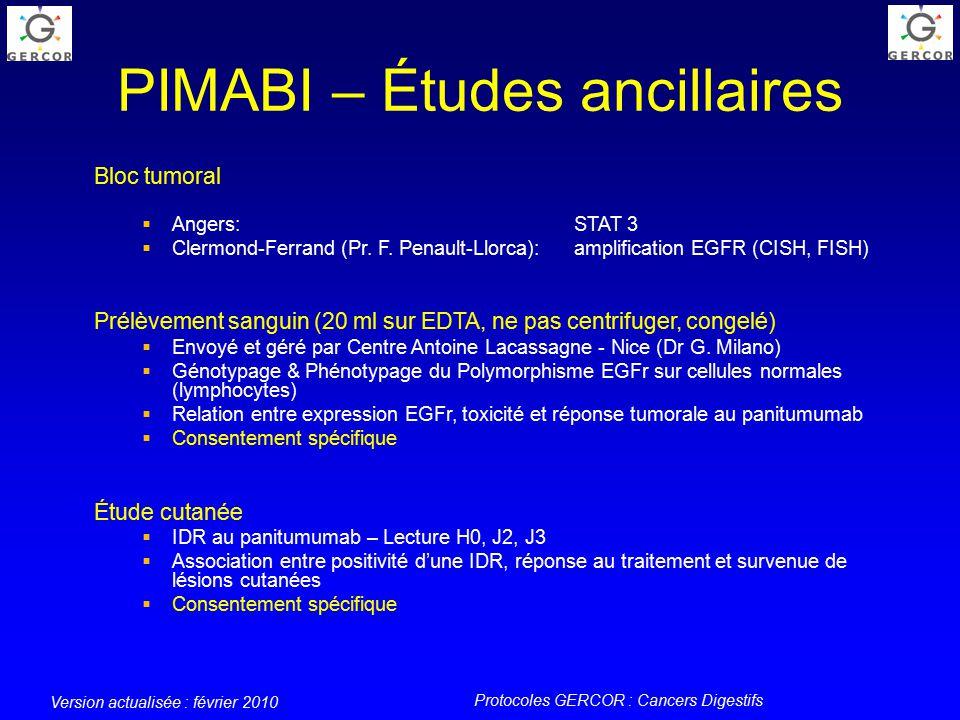 Protocoles gercor cancers digestifs ppt video online - Prelevement sanguin sur chambre implantable ...