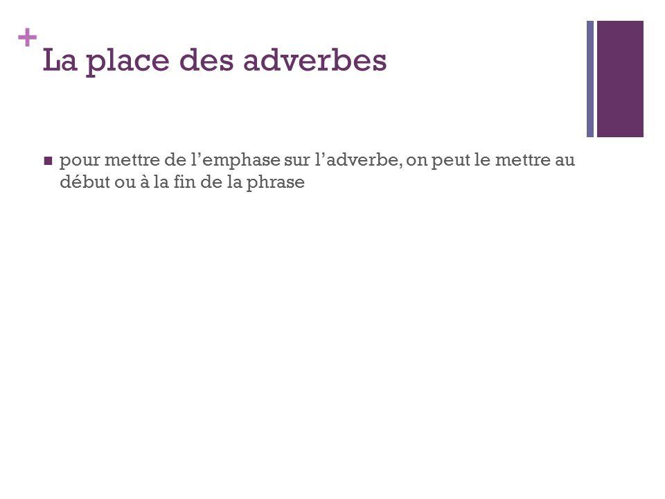 la place des adverbes pdf