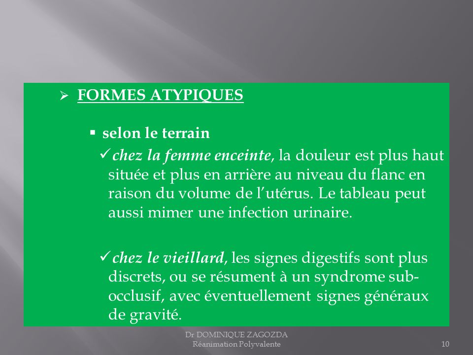 INFECTIONS INTRA-ABDOMINALES - ppt télécharger