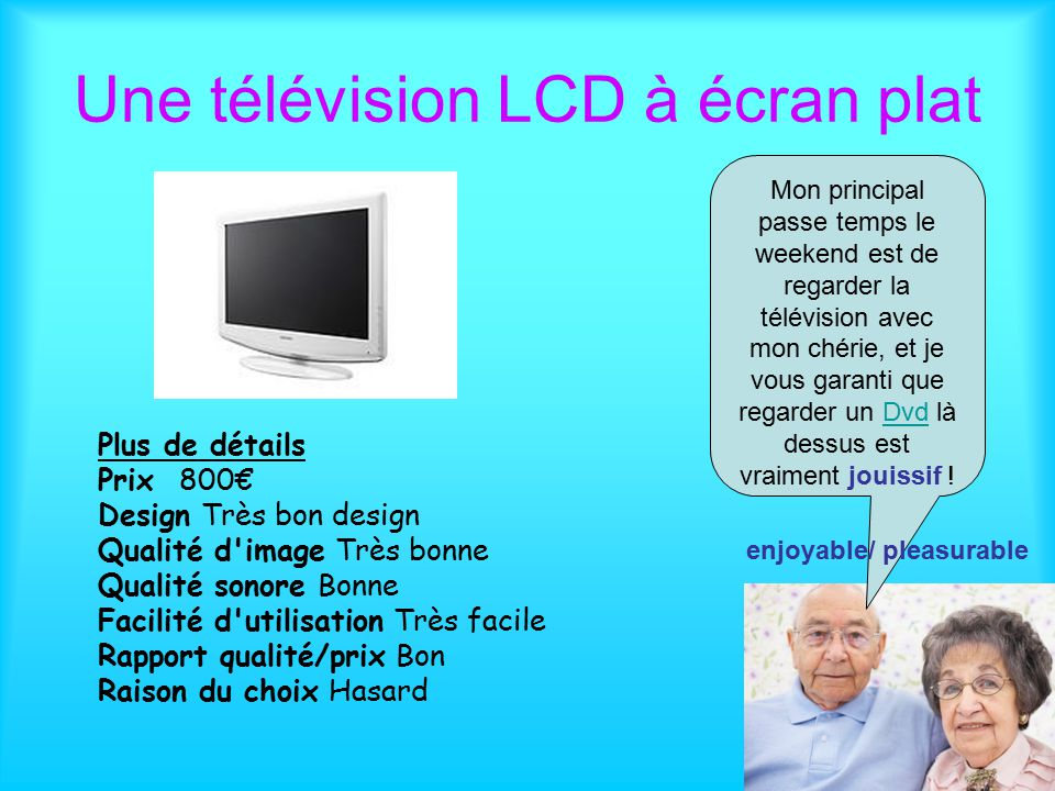 la t l vision un t l viseur de 1958 une t l vision lcd cran plat ppt t l charger. Black Bedroom Furniture Sets. Home Design Ideas