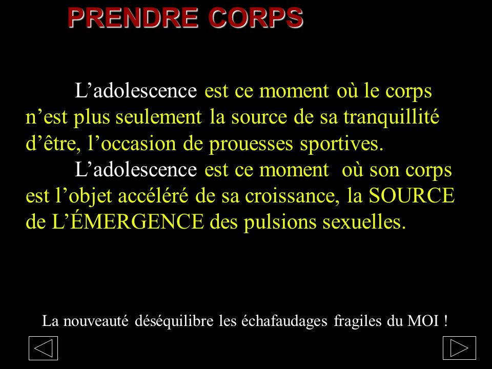 adolescence adolescent cours de psychologie theorie
