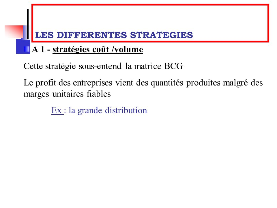 les differentes strategie marketing pdf