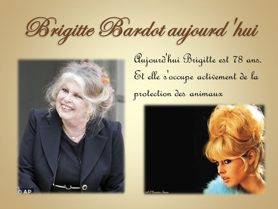 Brigitte Bardot aujourd hui
