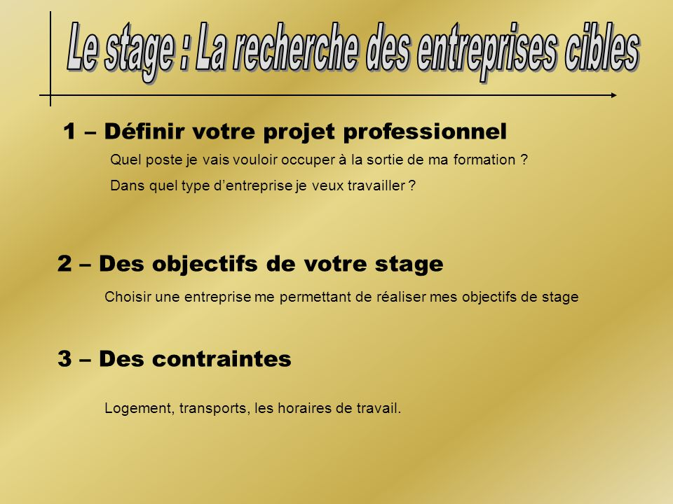 Infostages ppt video online t l charger for Stage creation entreprise chambre des metiers