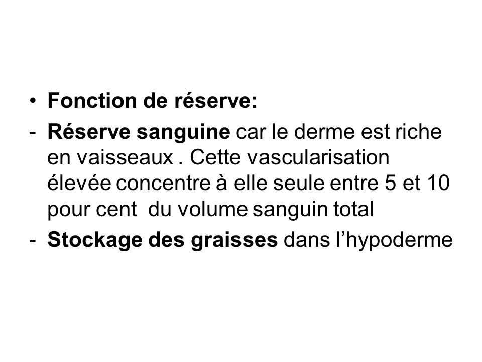 Fonction de réserve: