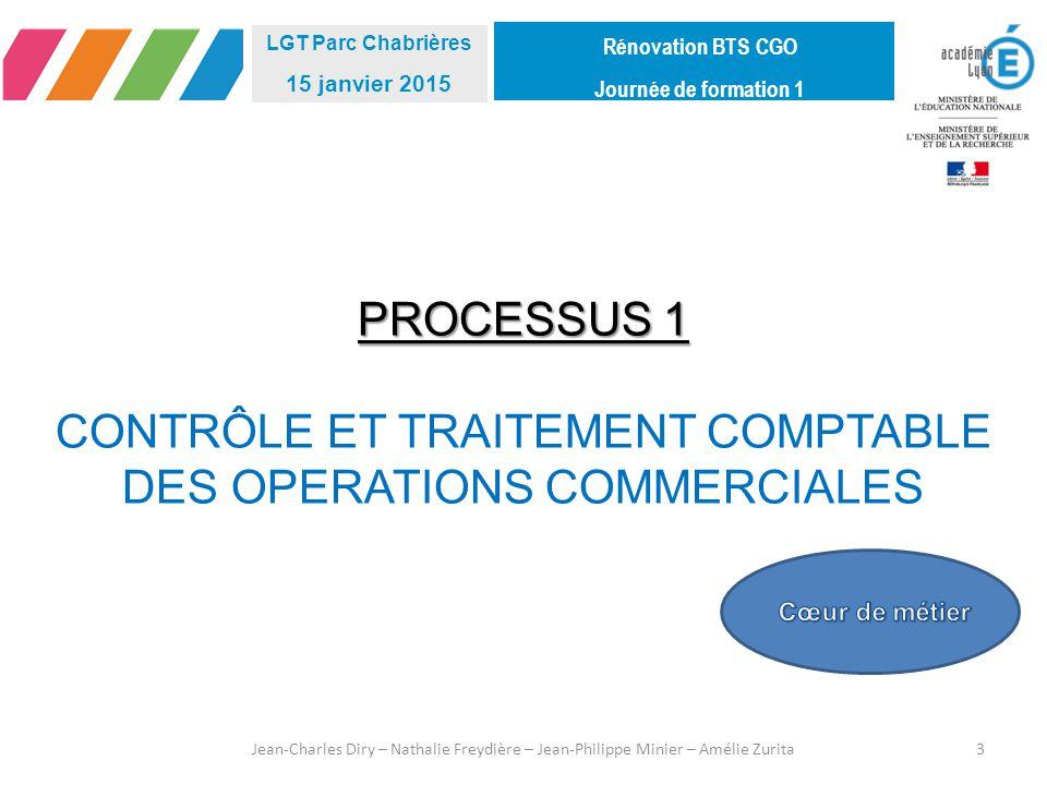 CONTRÔLE ET TRAITEMENT COMPTABLE DES OPERATIONS COMMERCIALES