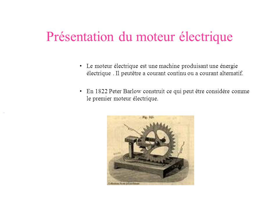 le moteur lectrique ppt video online t l charger. Black Bedroom Furniture Sets. Home Design Ideas