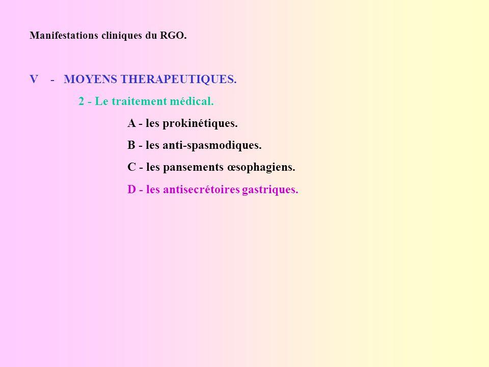 Manifestations cliniques du Reflux gastro-œsophagien - ppt