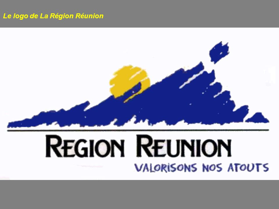 Le logo de La Région Réunion
