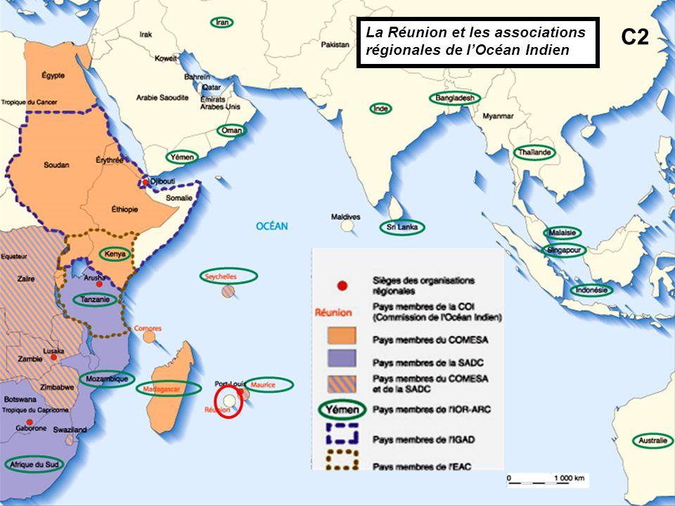 La Réunion et les associations régionales de l'Océan Indien