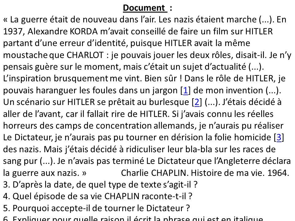 le dictateur de charlie chaplin  ppt t u00e9l u00e9charger