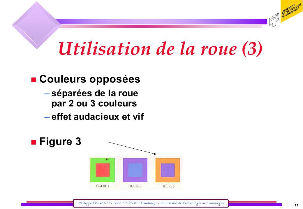 Utilisation de la roue (3)
